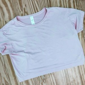 Tone It Up x Avocado Pink Crop Tee